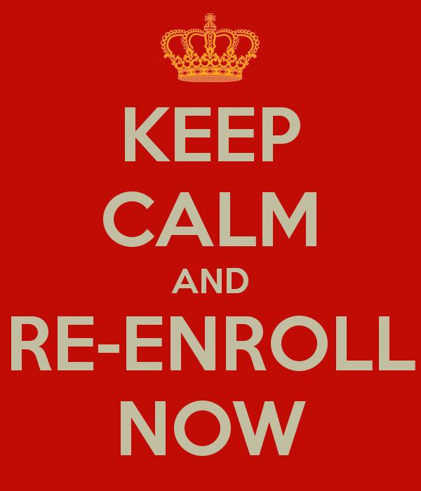 Image result for reenrollment
