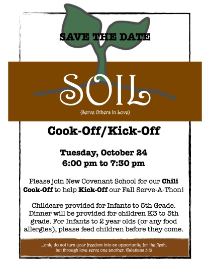 SOIL Save the Date
